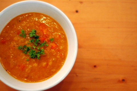 Carrot, Red Lentil and Ginger Soup Recipe | Beneficial Farms CSA