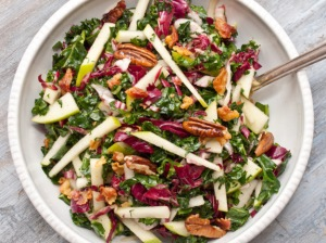 Kale, Apple and Pancetta Salad