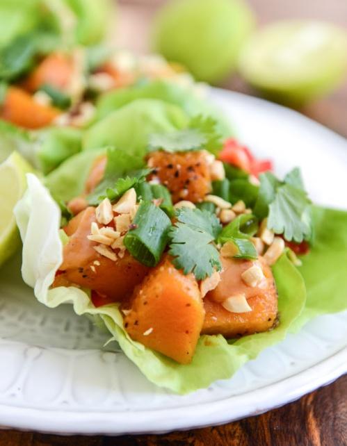 thai butternut wrap