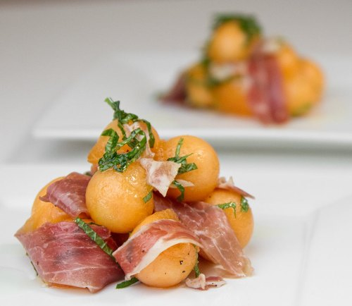Beneficial farms csa daily updates recipes and tips for Prosciutto and melon canape