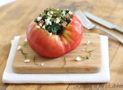 kale-and-sausage-stuffed-tomato