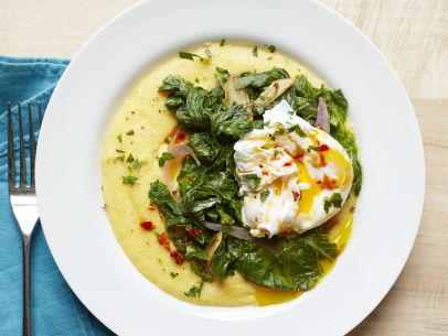 Beneficial farms csa daily updates recipes and tips for Creamy polenta with mushrooms and collards