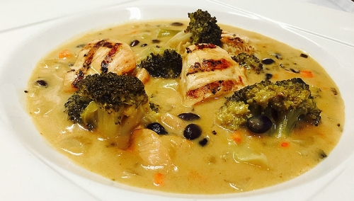 georges-smoked-chicken-broccoli-black-bean-soup