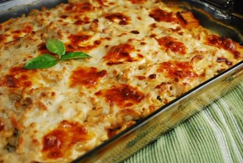 butternut-squash-and-spinach-pasta-casserole