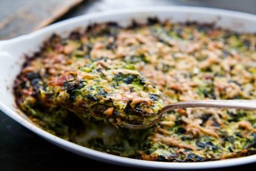 zucchini-spinach-gratin